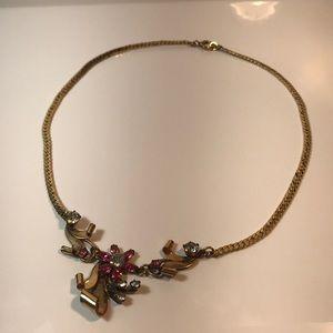 """Antique 16"""" 1/20 12k gold filled necklace"""